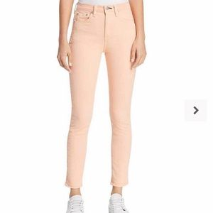 Rag & Bone/JEAN Prairie Sun High Rise Skinny Jeans